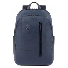 Рюкзак унисекс Piquadro Hakone CA4980S104/BLU синий натур.кожа