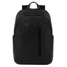 Рюкзак унисекс Piquadro Hakone CA4980S104/N черный натур.кожа