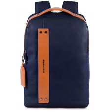 Рюкзак унисекс Piquadro Sendai CA5032S103/BLU синий натур.кожа