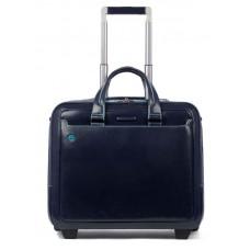 Сумка дорожная Piquadro BLUE SQUARE (BV5014B2/BLU2) 42x36.5x20см 25л. 3.06кг. кожа натуральная синий