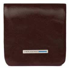 Монетница Piquadro Blue Square PU2636B2/MO коричневый натур.кожа