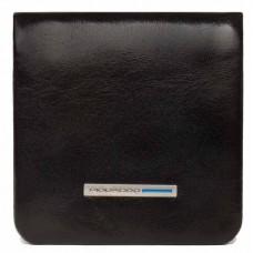 Монетница Piquadro Blue Square PU2636B2/N черный натур.кожа