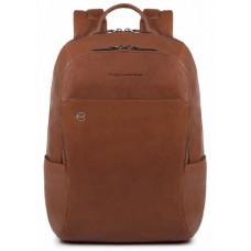Рюкзак унисекс Piquadro Black Square CA3214B3/CU светло-коричневый натур.кожа