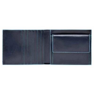 Кошелек мужской Piquadro Blue Square PU1239B2R/BLU2 синий натур.кожа