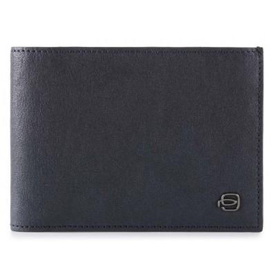 Кошелек мужской Piquadro Black Square PU257B3R/BLU темно-синий натур.кожа