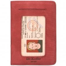 Dr.Koffer X268010-165-03 обложка для автодокументов