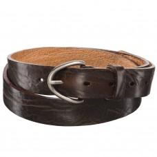 Кожаный ремень коричневого цвета Dr.Koffer R049V110-147-09