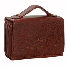 Dr.Koffer B402163-02-05 Коричневая кожаная сумка с ручкой