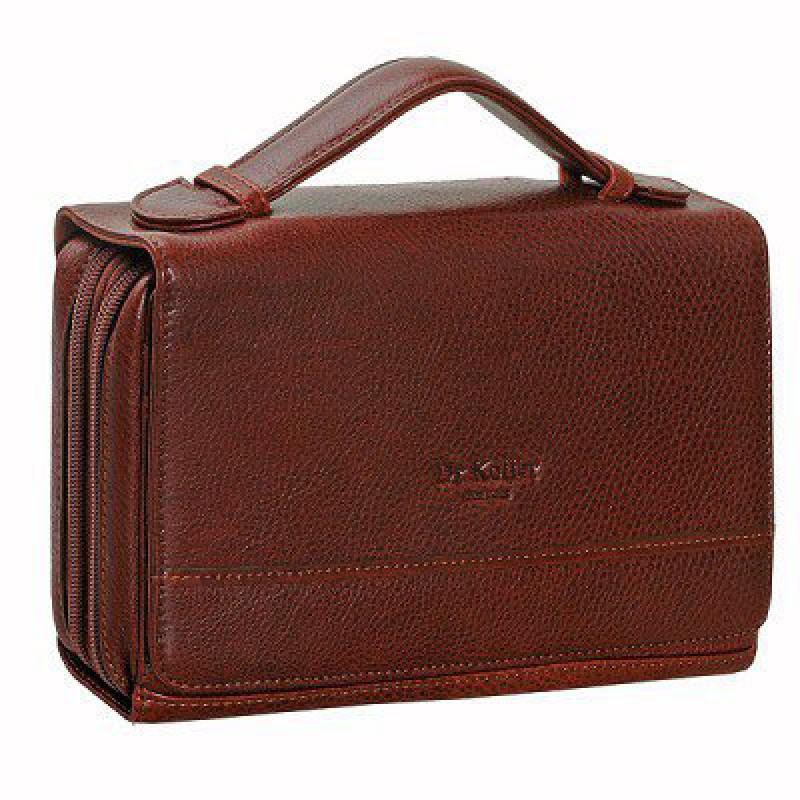 d0c113e999c7 Dr.Koffer B402163-02-05 Коричневая кожаная сумка с ручкой - купить в ...