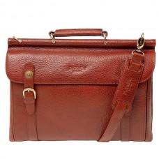 Мужской портфель на съемном плечевом ремне Dr.koffer P402227-02-05