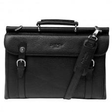 Мужской портфель на съемном плечевом ремне Dr.koffer P402227-02-04