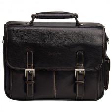 Мужской портфель со съемным плечевым ремнем Dr.koffer B393170-02-04