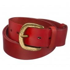 Красный кожаный ремень Dr.Koffer 24848/OTTVL120-198-03