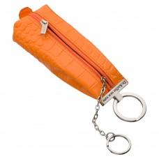 Ярко-оранжевая ключница на молнии Dr.Koffer X510226-171-58