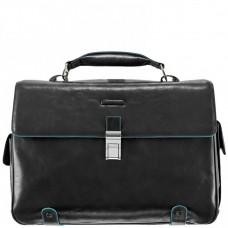 Классический кожаный портфель Piquadro CA1066B2/N