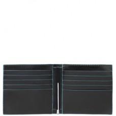 Кожаный бумажник с зажимом для купюр Piquadro PU1666B2/N