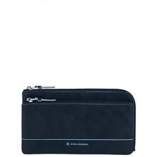 Кожаный клатч 3 в 1 Piquadro (Пиквадро) AC2925B2/BLU2