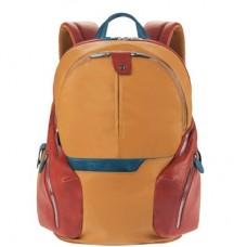 Рюкзак Piquadro CA2943OS/G кожа/синтетика желто-красный