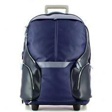 Дорожная сумка Piquadro BV3148OS/BLU кожа-синтетика