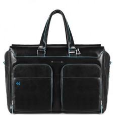 Дорожная сумка Piquadro BV4342B2/N кожаная