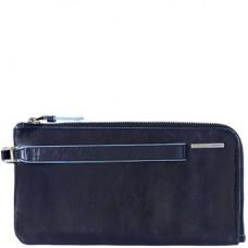 Кожаное портмоне (клатч) Piquadro AC2648B2/BLU2