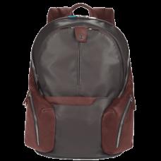 Рюкзак Piquadro CA2943OS/TM кожа/синтетика серо-коричневый