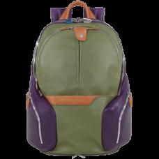 Рюкзак Piquadro CA2943OS/VE кожа/синтетика зеленый