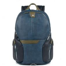 Рюкзак Piquadro CA2943OS02/BLU кожаный синий