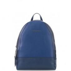 Женский рюкзак Piquadro CA4327MUS/BLU кожаный синий