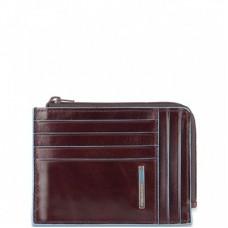 Кошелек Piquadro PU1243B2R/MO для кредитных карт коричневый