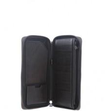 Многофункциональное вертикальное портмоне Piquadro PP3246B3/TM темно-коричневое