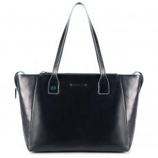 Женская сумка Piquadro BD3883B2/BLU2 кожаная