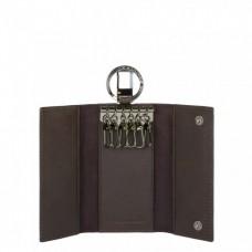 Ключница Piquadro PC1397B3/TM коричневая