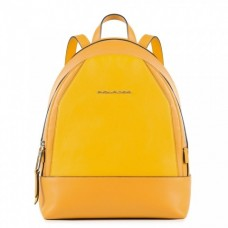 Женский рюкзак Piquadro CA4327MUS/G кожаный желтый