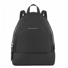 Женский рюкзак Piquadro CA4327MU/N кожаный черный