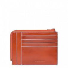 Кошелек Piquadro PU1243B2R/AR для кредитных карт оранжевый