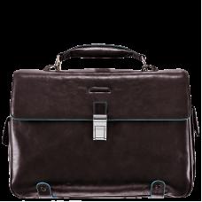 Портфель Piquadro CA1066B2/MO кожаный