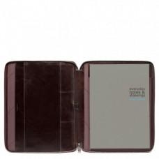 Кожаная папка Piquadro PB1164B2/MO для документов А4 и планшета коричневая