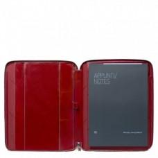 Кожаная папка Piquadro PB1164B2/R для документов А4 и планшета красная
