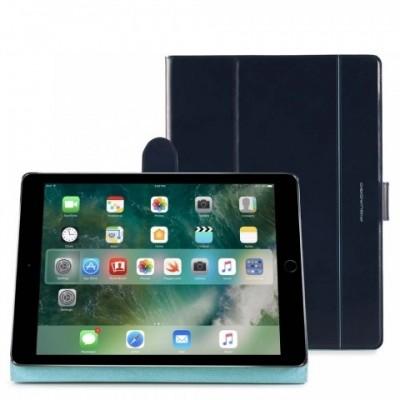 """Чехол Piquadro AC4282B2/BLU2 кожаный для Ipad Pro 12,9"""" синий"""