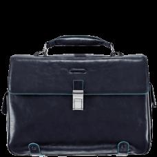 Портфель Piquadro CA1066B2/BLU2 кожаный