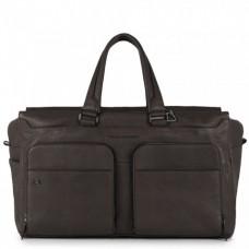 Дорожная сумка Piquadro BV4342B3BM/TM кожаная темно-коричневая