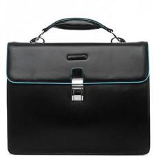 Портфель Piquadro Blue Square CA1153B2/N с одним замком / черный