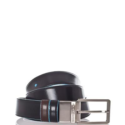 Двухсторонний кожаный ремень Piquadro CU2619B2/NMO
