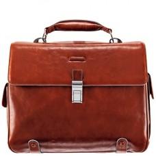 Портфель Piquadro CA1066B2/AR кожаный