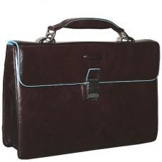 Портфель Piquadro Blue Square CA1153B2/MO с одним замком / красно-коричневый
