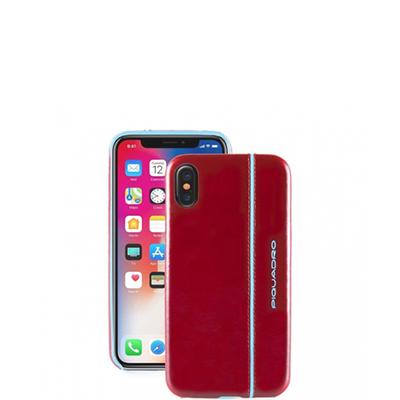 Чехол Piquadro AC4511B2/R кожаный для iPhone X/XS